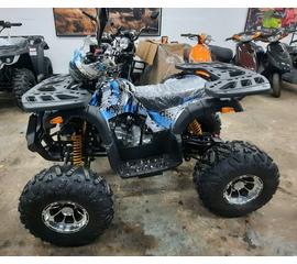 Подростковый бензиновый квадроцикл Hummer ATV 125 Синий