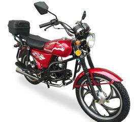Мотоцикл Musstang Alfa MT125-2 красный