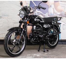 Мотоцикл Musstang Alfa MT125-2 черный