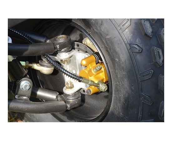Детский / Подростковый бензиновый квадроцикл SKYBIKE HYPER 110 (СИНИЙ)