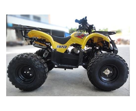 Детский / Подростковый бензиновый квадроцикл SKYBIKE HYPER 110 (Желтый)