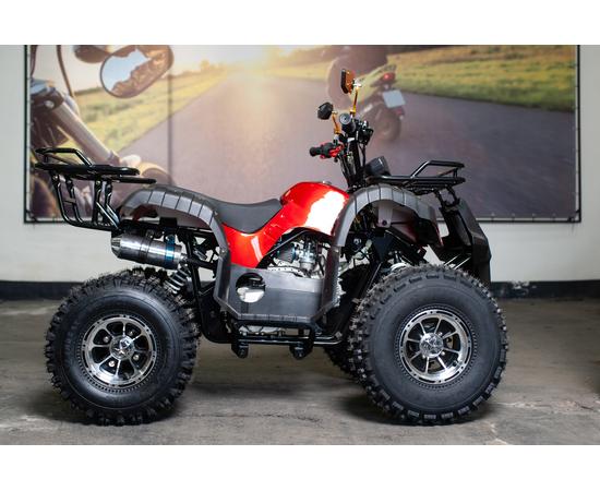 Подростковый бензиновый квадроцикл Comman Xtn 125 (Вишневый)