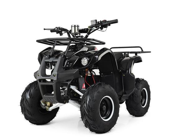 Детский (подростковый) Электроквадроцикл PROFI HB-EATV1000D-2 (MP3) Черный